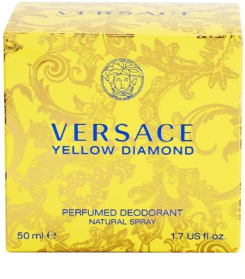 Versace Yellow Diamond Deo mit Zerstäuber für Damen 4