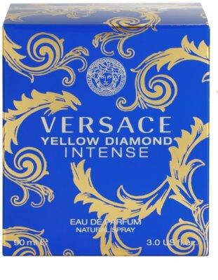 Versace Yellow Diamond Intense eau de parfum para mujer 4