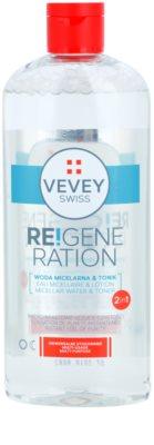 Vevey Swiss Re!generation agua micelar y tónico 2 en 1