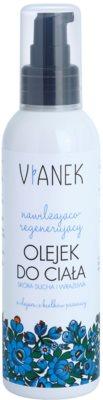 Vianek Moisturising aceite corporal regenerador con efecto humectante