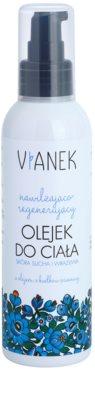 Vianek Moisturising regenerierendes Body-Öl mit feuchtigkeitsspendender Wirkung