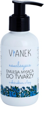 Vianek Moisturising emulsión limpiadora para pieles secas y sensibles