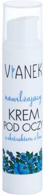 Vianek Moisturising crema pentru ochi cu efect hidratant pentru piele uscata spre sensibila