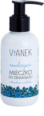 Vianek Moisturising почистващо мляко за тяло с хидратиращ ефект