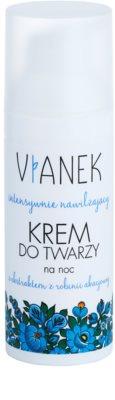 Vianek Moisturising crema de noche intensa  para pieles secas y sensibles