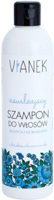 Vianek Moisturising champú para cabello seco y normal con efecto humectante