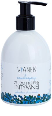 Vianek Moisturising gel calmante de higiene íntima