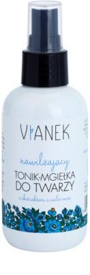 Vianek Moisturising tónico facial para pele seca a sensível