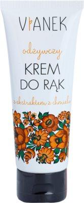 Vianek Nutritious intensive Creme für Hände mit nahrhaften Effekt