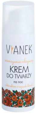 Vianek Nutritious нощен интензивен крем с подхранващ ефект