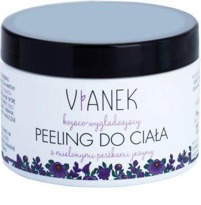 Vianek Soothing Hautpeeling mit Zucker mit glättender Wirkung