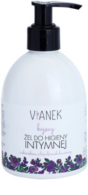 Vianek Soothing Gel für die intime Hygiene zur täglichen Anwendung