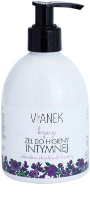 Vianek Soothing gel para higiene íntima para uso diário