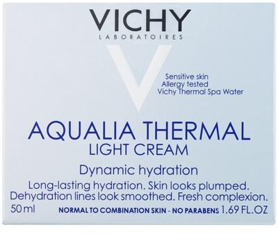 Vichy Aqualia Thermal Light лек хидратиращ дневен крем за нормална към смесена кожа 2