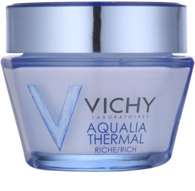 Vichy Aqualia Thermal Rich Nourishing Moisturizing Day Cream For Dry To Very Dry Skin