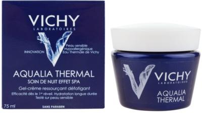 Vichy Aqualia Thermal Spa intensive, feuchtigkeitsspendende Nachtpflege gegen die Anzeichen von Müdigkeit 2