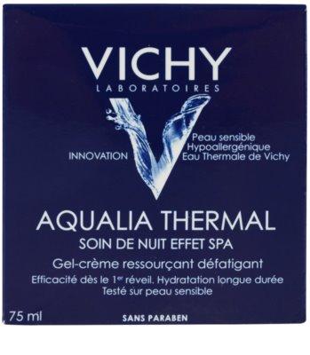 Vichy Aqualia Thermal Spa intensive, feuchtigkeitsspendende Nachtpflege gegen die Anzeichen von Müdigkeit 3