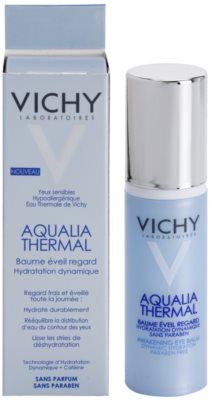 Vichy Aqualia Thermal bálsamo de ojos hidratante antibolsas y antiojeras 2