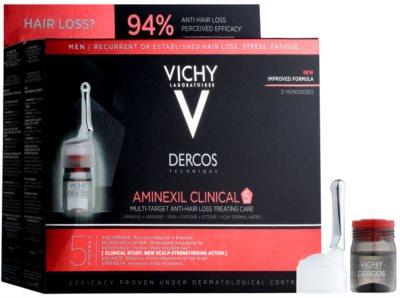 Vichy Dercos Aminexil Clinical 5 Local Anti-Hair Loss Treatment  For Men