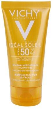 Vichy Capital Soleil ochronny fluid matujący do twarzy SPF 50+