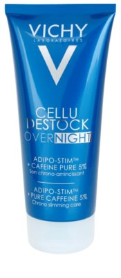 Vichy Cellu Destock Overnight shujševalno mleko za telo proti celulitu