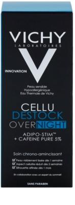 Vichy Cellu Destock Overnight wyszczuplające mleczko do ciała przeciw cellulitowi 3