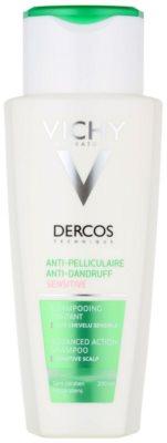 Vichy Dercos Anti-Dandruff nyugtató sampon érzékeny bőrre korpásodás ellen