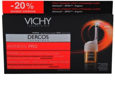 Vichy Dercos Aminexil PRO tratamento intensivo contra queda capilar para homens 3