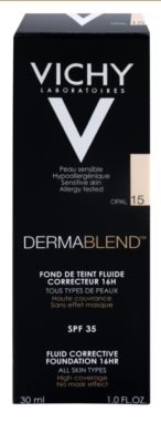 Vichy Dermablend korrekciós make-up SPF 35 2