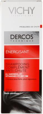 Vichy Dercos Energising šampon za okrepitev las proti izpadanju las 4