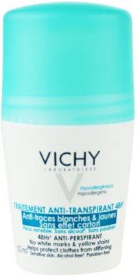Vichy Deodorant antiperspirant roll-on proti bílým a žlutým skvrnám
