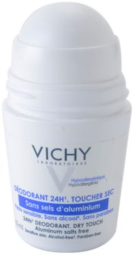 Vichy Deodorant Deodorant roll-on pentru piele sensibila 1