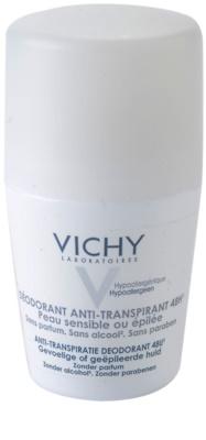 Vichy Deodorant desodorizante roll-on para pele sensível e irritada