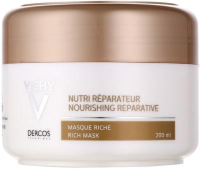 Vichy Dercos Nutri Reparateur vyživující maska pro suché a poškozené vlasy