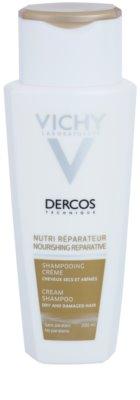 Vichy Dercos Nutri Reparateur hranilni šampon za suhe in poškodovane lase