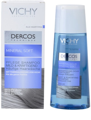 Vichy Dercos Mineral Soft champô mineral para uso diário 1