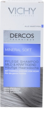 Vichy Dercos Mineral Soft ásványi sampon mindennapi használatra 2