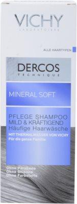 Vichy Dercos Mineral Soft champô mineral para uso diário 2