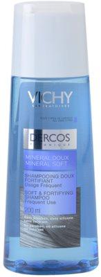 Vichy Dercos Mineral Soft ásványi sampon mindennapi használatra