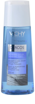 Vichy Dercos Mineral Soft sampon mineral pentru utilizarea de zi cu zi