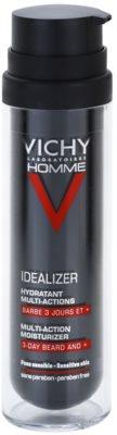 Vichy Homme Idealizer creme hidratante para rosto e barba