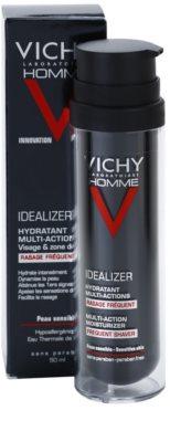 Vichy Homme Idealizer feuchtigkeitsspendende Gesichtscreme nach der Rasur 2