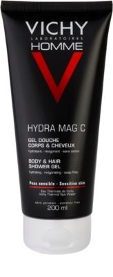 Vichy Homme Hydra-Mag C gel za prhanje za telo in lase