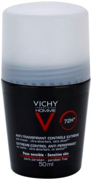 Vichy Homme Déodorant Roll-On Deodorant gegen übermäßiges Schwitzen