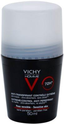 Vichy Homme Déodorant roll-on dezodor az erőteljes izzadás ellen