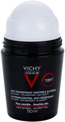 Vichy Homme Déodorant Roll-On Deodorant gegen übermäßiges Schwitzen 1