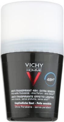 Vichy Homme Déodorant dezodorant roll-on bez parfumácie