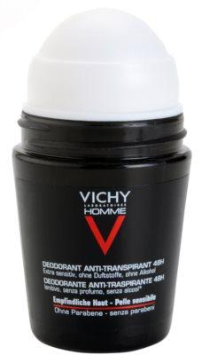 Vichy Homme Déodorant дезодорант рол-он без парфюм 1