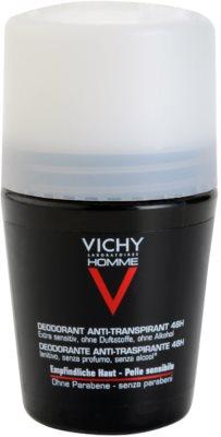 Vichy Homme Déodorant дезодорант рол-он без парфюм 2