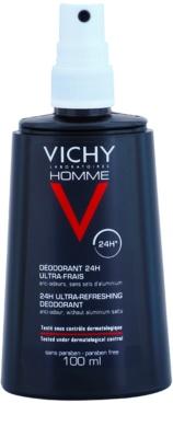 Vichy Homme Déodorant desodorizante em spray contra suor excessivo 1